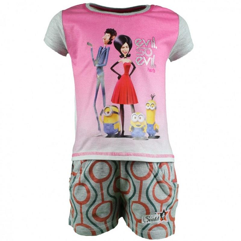 Wholesaler licenced clothing kids Minions - Summer Set