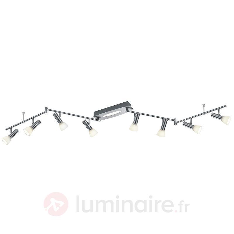 Large plafonnier LED Plucino à 9 lampes - Spots et projecteurs LED