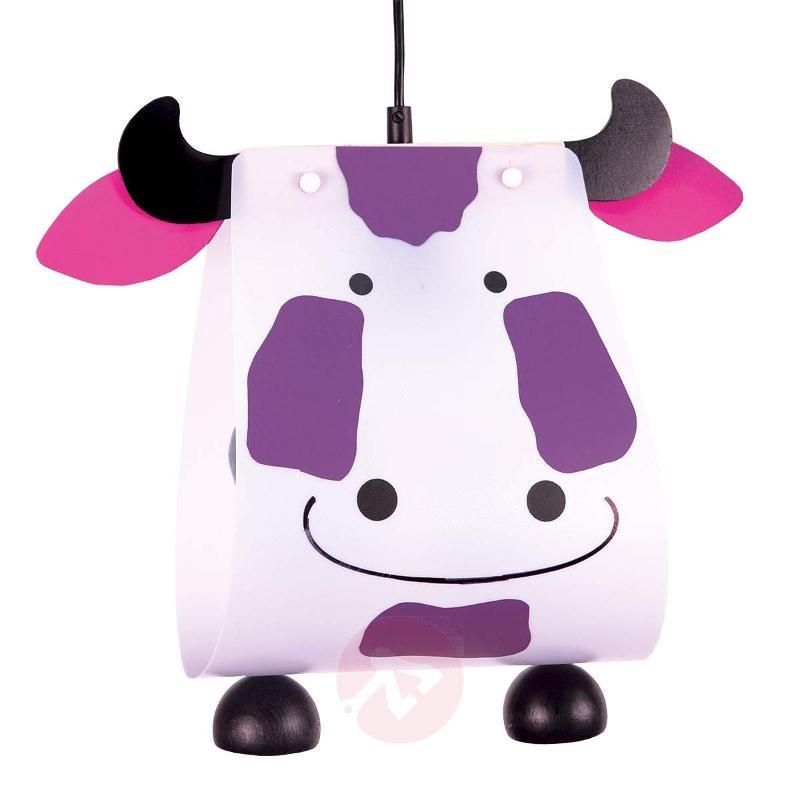 Cow Hanging Light Unusual for Children's Room - Pendant Lighting