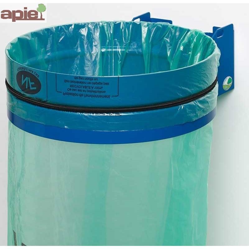 Support sac poubelle mural sans couvercle - Référence : 36741