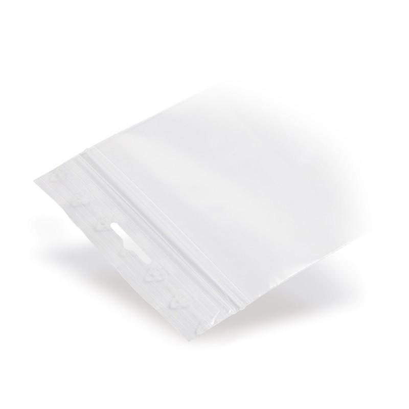 LDPE-Grip Seal Bags With Euro Hole Punching 50 µm - LDPE-Grip Seal Bags With Euro Hole Punching 50 µm