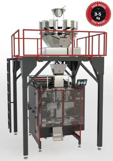 IMQL-W SERIES Quadseal Packaging Machine with Multihead Weig -