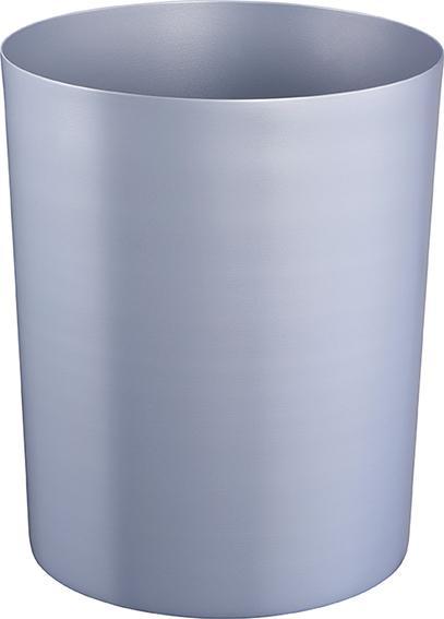Z16350 - Sicherheitspapierkorb aus Stahl 13L, feuerfest - silber