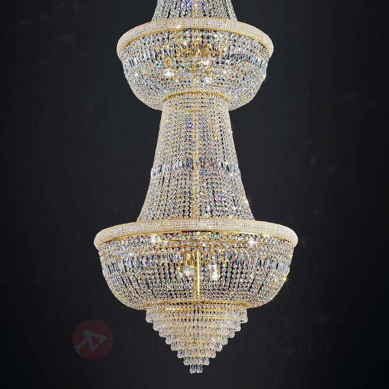 Lustre gigantesque en cristal Osaka 335 cm - Lustres en cristal