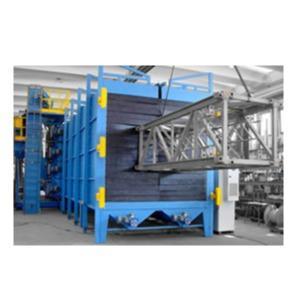 Granalladoras de turbina - Cabina de chorro de aire CS-TC