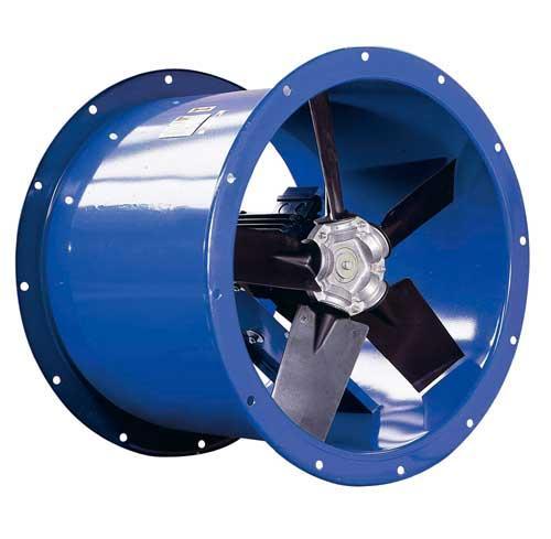 Ventilateur industriel hélicoidal/axial - EF/D Ventilateurs