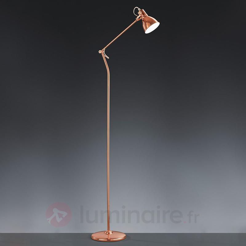 Lampadaire Keali couleur cuivre - Tous les lampadaires