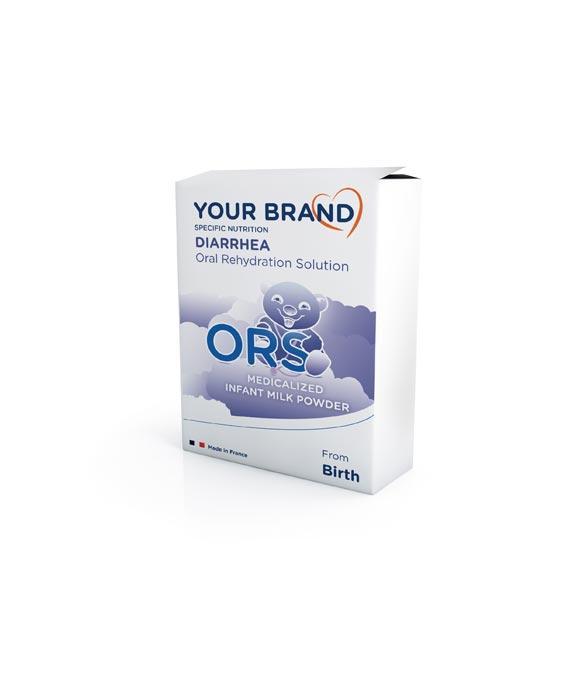 Special infant milk formula - Oral Rehydratation Solution - SRO