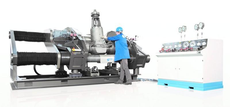 Horizontaler Armaturenprüfstand EFCO PS-H 1500 - Horizontaler Armaturenprüfstand EFCO PS-H 1500