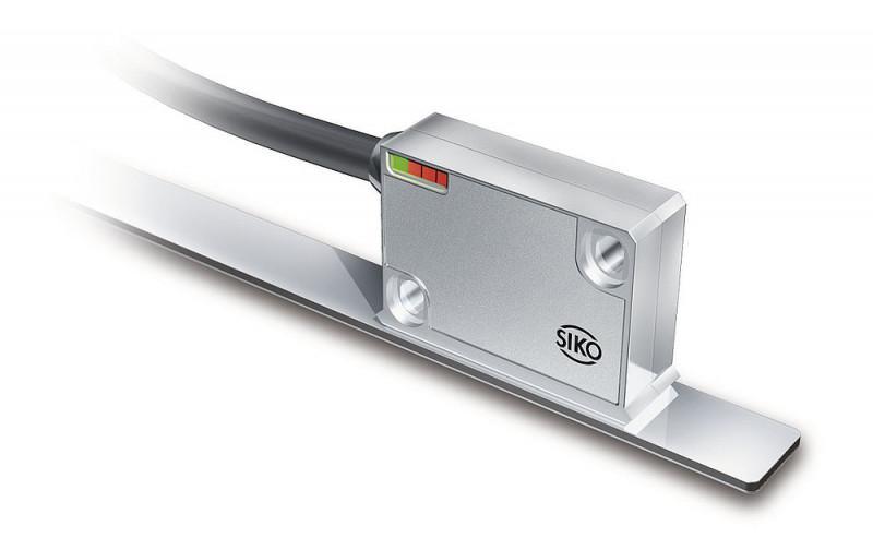 磁性传感器 LE200 - 磁性传感器 LE200, 紧密型传感器,增量式和模拟接口