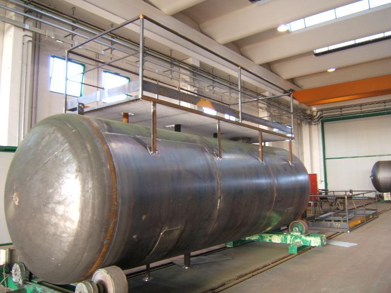C-Stahl Behälter - null
