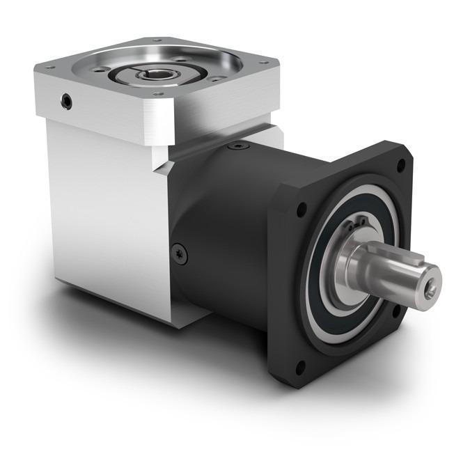 Winkelplanetengetriebe WPLQE - Economy Getriebe mit Abtriebswelle - Geradverzahnt - Kegelradwinkelstufe