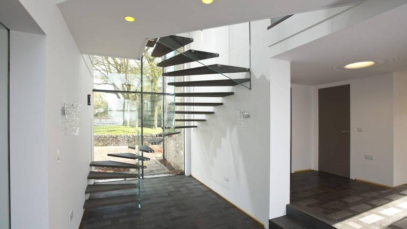 turned stairs winder staircase siller treppen germany. Black Bedroom Furniture Sets. Home Design Ideas