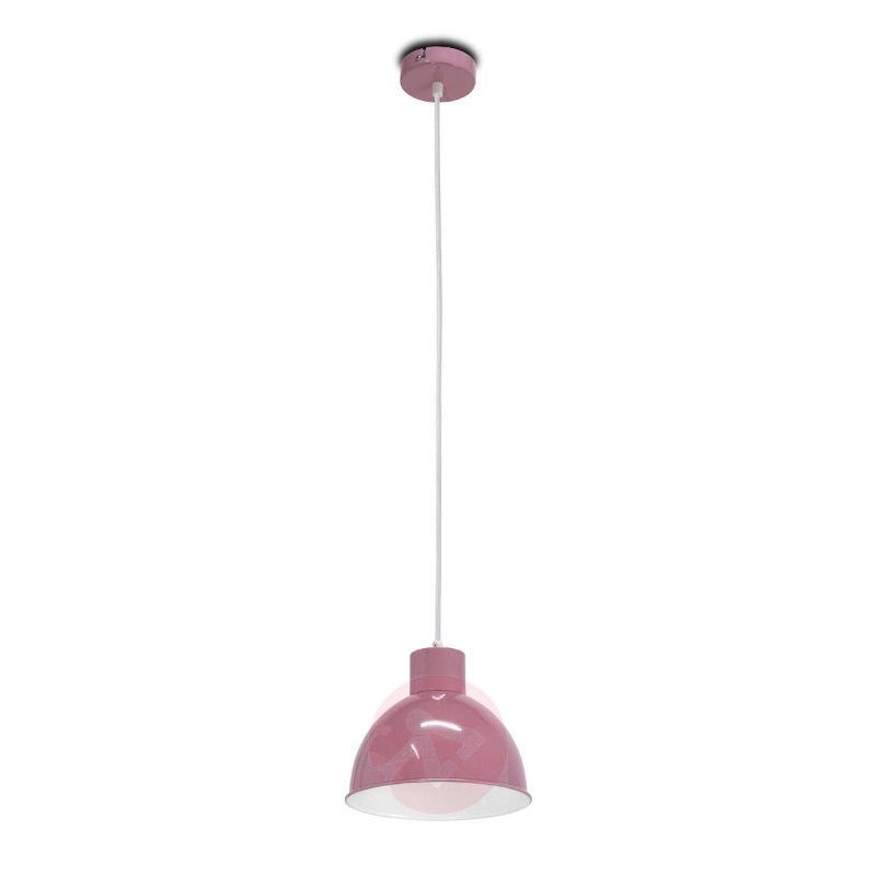 Andrin Lavender Pendant Lamp - White Interior - Pendant Lighting