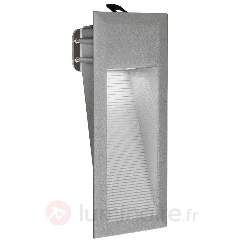 Lampe à encastrer DOWNUNDER 15 LED, IP44 blanc. - Spots encastrés dans le mur