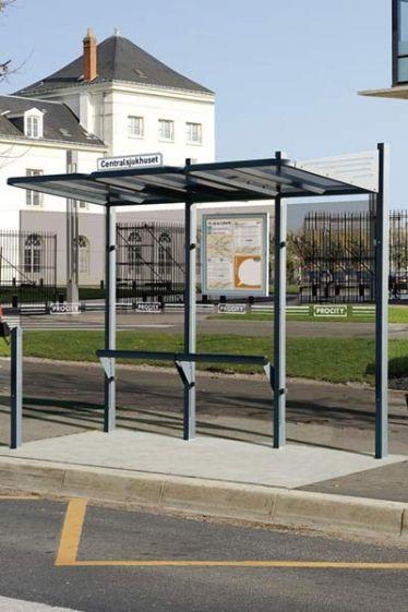 Station Bus Conviviale 3 M - Abrisbus