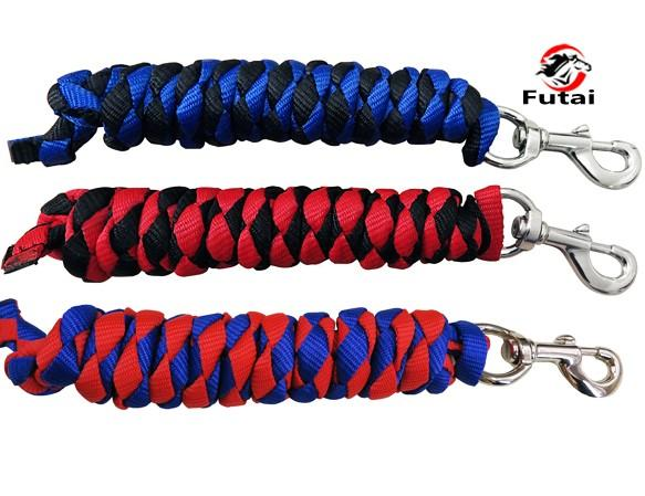 horse lead rope,pet's lead rope,multi color,18MM thick - horse lead rope,pet's lead rope,cotton material