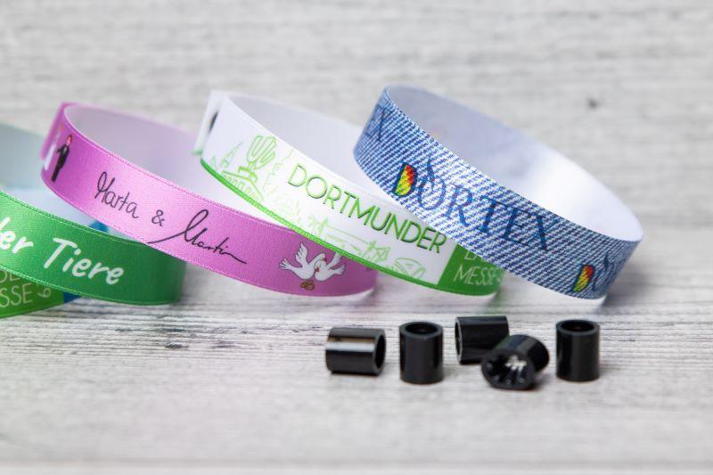 myVIPs® - pulseras de tela para eventos y festivales   -
