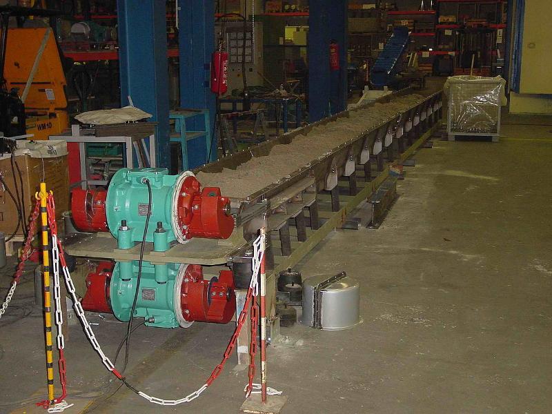 Reversible tubular feeder / trough conveyor  - Conveying technology
