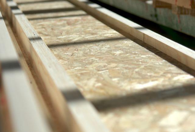 Viga T dupla em madeira - Viga T dupla estrutural de madeira para sistemas de cavaletes e pavimentos