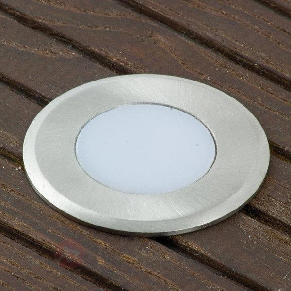 Spot supplém. LED Nürnberg 4 rond, câble 0,3m - Luminaires LED encastrés au sol