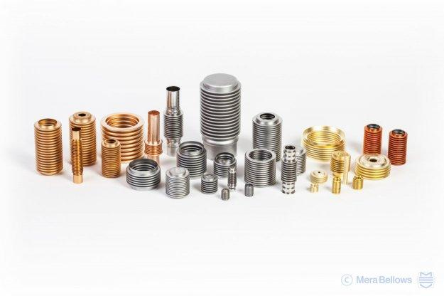 Formed metal bellows - Efficient hydroforming technology, brass, bronze, stainless steel and more