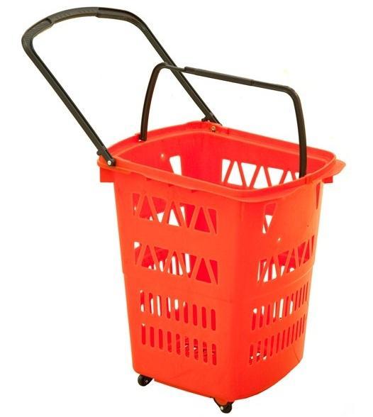 Trolley Basket - 68 Litres (4 wheels) -