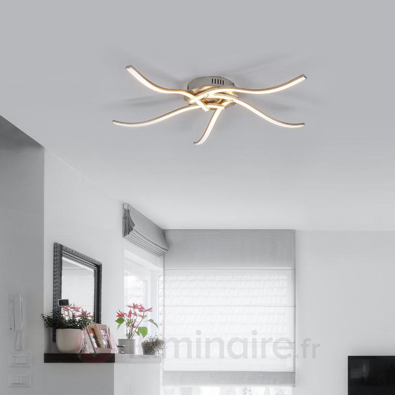 Plafonnier LED Rachel à cinq lampes - Plafonniers LED