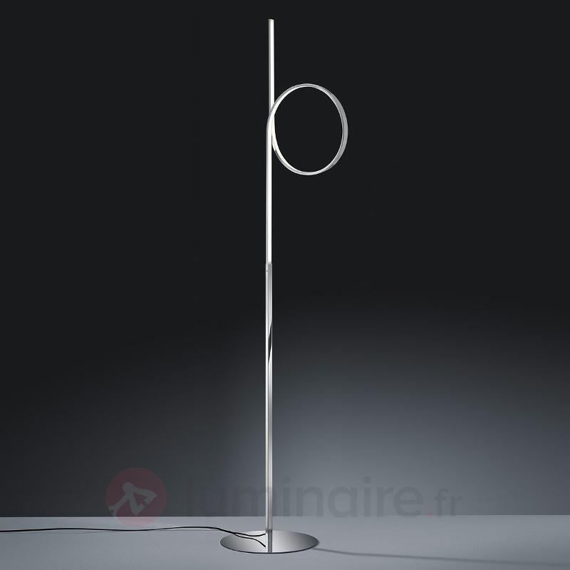 Lampadaire LED Catoki en forme de boucle - Lampadaires LED
