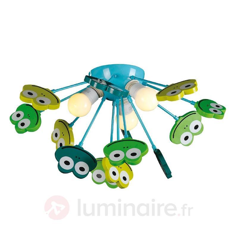 Plafonnier GRENOUILLE bleu vert - Chambre d'enfant