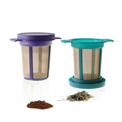 Permanent Filters - With micro-fine stainless-steel mesh and BPA-free