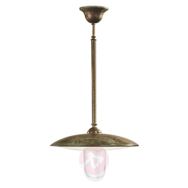 Antique brass hanging light Casale - Outdoor Pendant Lighting