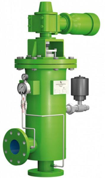 Rückspül-Trommelfilter RTF-S - Hervorragende Rückspülleistung und kompakte Bauweise aus.