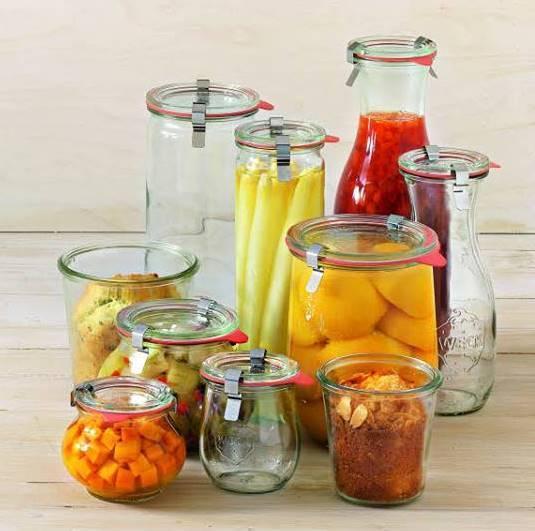 WECK® GLASS JARS -