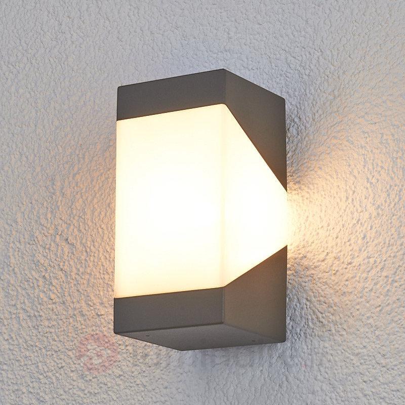 LED Applique d'extérieur Kiran élégante - Toutes les appliques d'extérieur