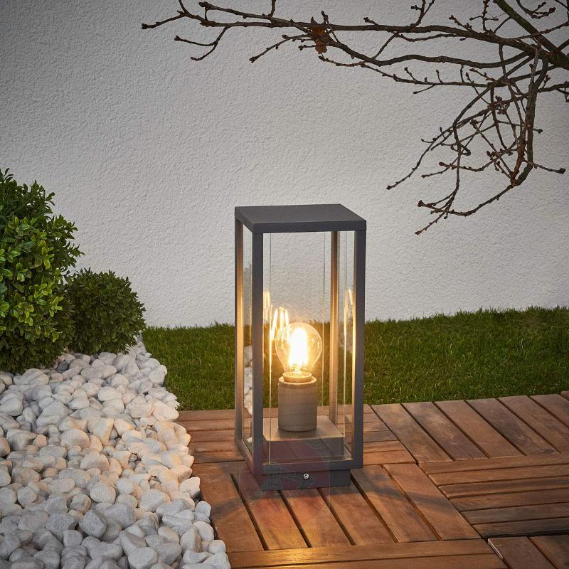Annalea - pillar light with angular shape - Pillar Lights