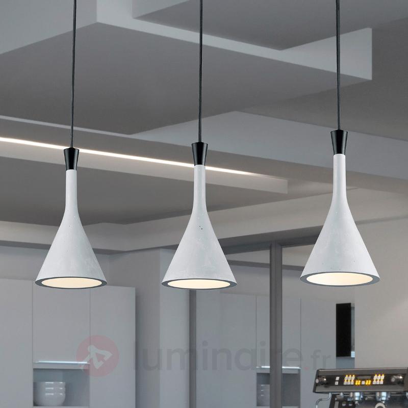 Suspension Roddik à 3 lampes - Cuisine et salle à manger
