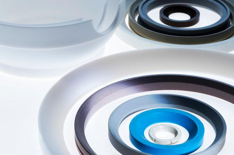 Sealing Gaskets - Sealing elements and support rings made of PTFE and PTFE compounds
