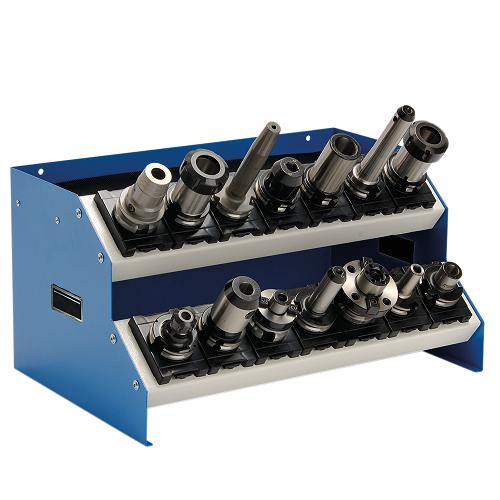 CNC-table rack attachment with 2 floors incl. inserts - 02.2214A