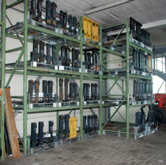 Gabelzinkenpalette Typ GZP - Sicheres Lagern und Handling von Gabelzinken
