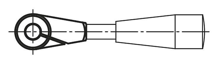Moyeu de serrage - Volants, manivelles et poignées
