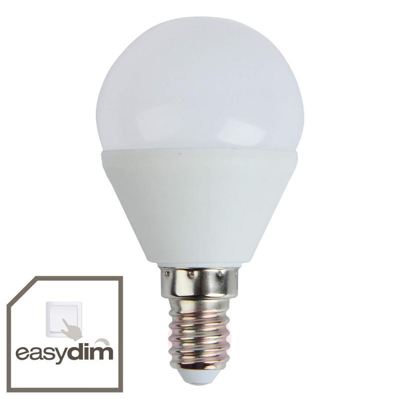 E14 5 W 830 LED golf ball bulb, easydim - light-bulbs