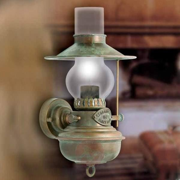Wall light Guadalupa in oil lamp look - Wall Lights
