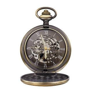 Pocket watch in italy for wholesale - 2018 Skeleton Watch Water Resistant mechanical pocket Watch from china supplier