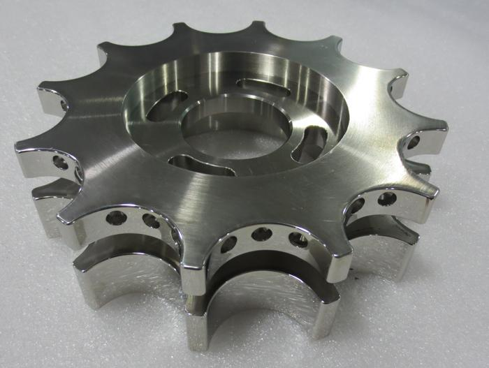 CNC machining Stainless steel part - null