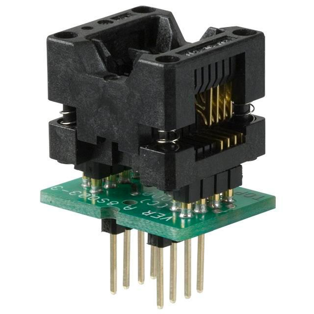 ADAPTER 8-SOIC TO 8-DIP - Logical Systems Inc. PA8SO1-03-3