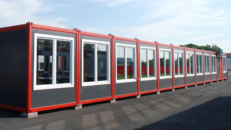 Residential containers -