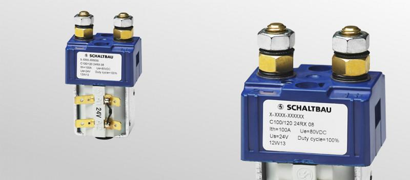 Battery contactors single pole - Battery contactors to meet the requirements of industrial trucks.