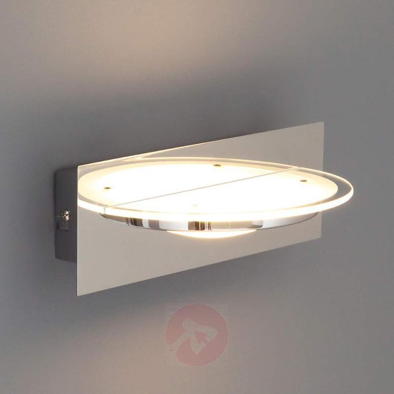 Kathleen LED Wall Light Glass - Wall Lights