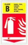 Panneaux de prévention incendie GAD 200 * 330 mm - Rigides - Signalisation de sécurité  - normes AFNOR